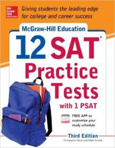 12 sat practice tests