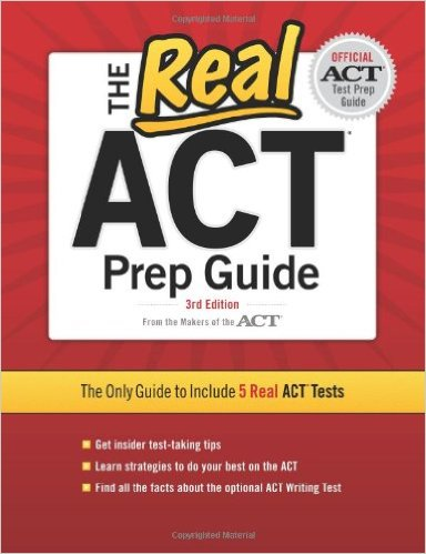 official real act book