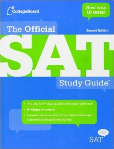 official sat book