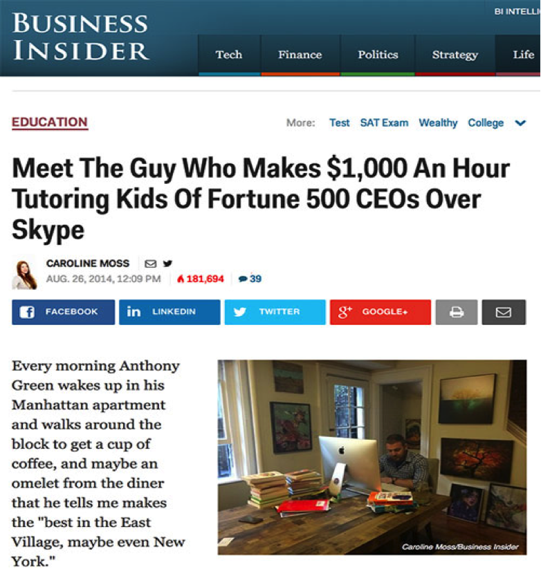 Featured by Business Insider